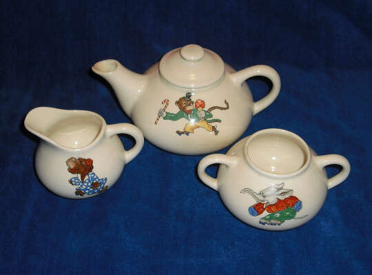 Childrens Tea Sets Knowles China Newell Wv
