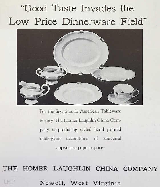 Marigold By The Homer Laughlin China Company