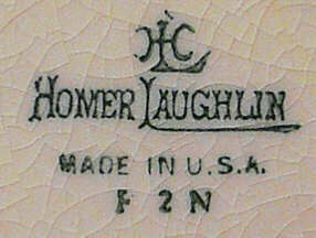 Vintage Homer Laughlin Backstamps