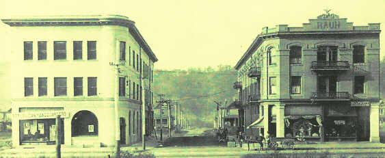 Aaron And Rauh Buildings Newell West Virginia